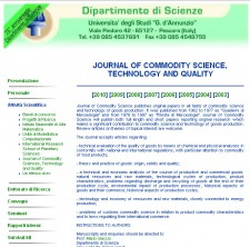 Journal Of Commodity Science, Technology And Quality