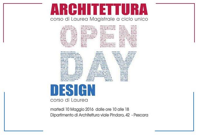 Open Day - Architettura